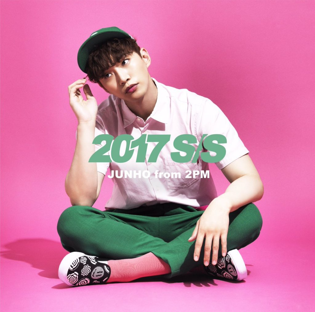 2PM ジュノ JUNHO 2017年 ソロアルバム 2017 S/S 価格 通常盤