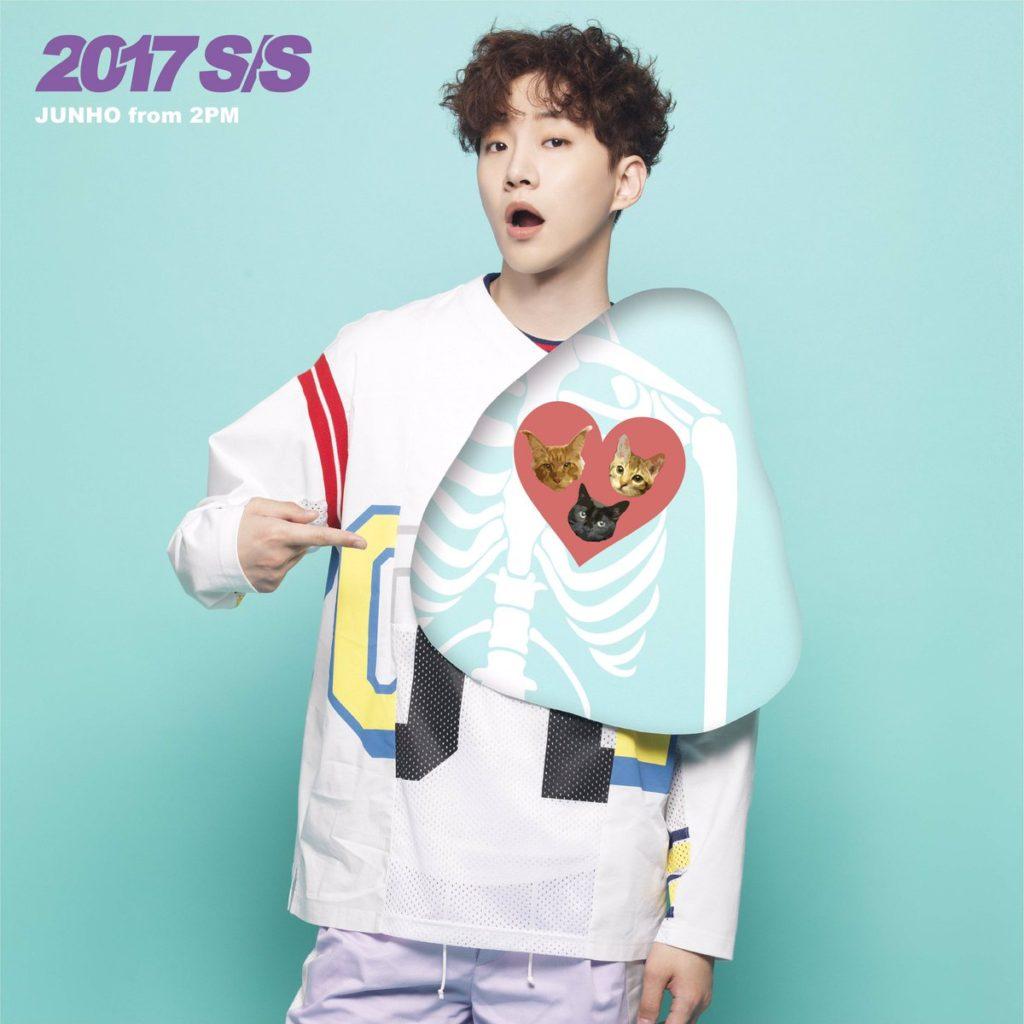 2PM JUNHO ジュノ 2017年 ソロアルバム 2017 S/S リパケ リパッケージ LP盤