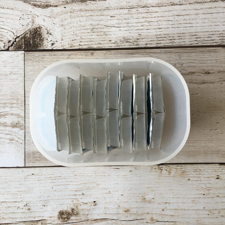 ダイソー 積み重ねボックス ケース 収納 サイズ 無印