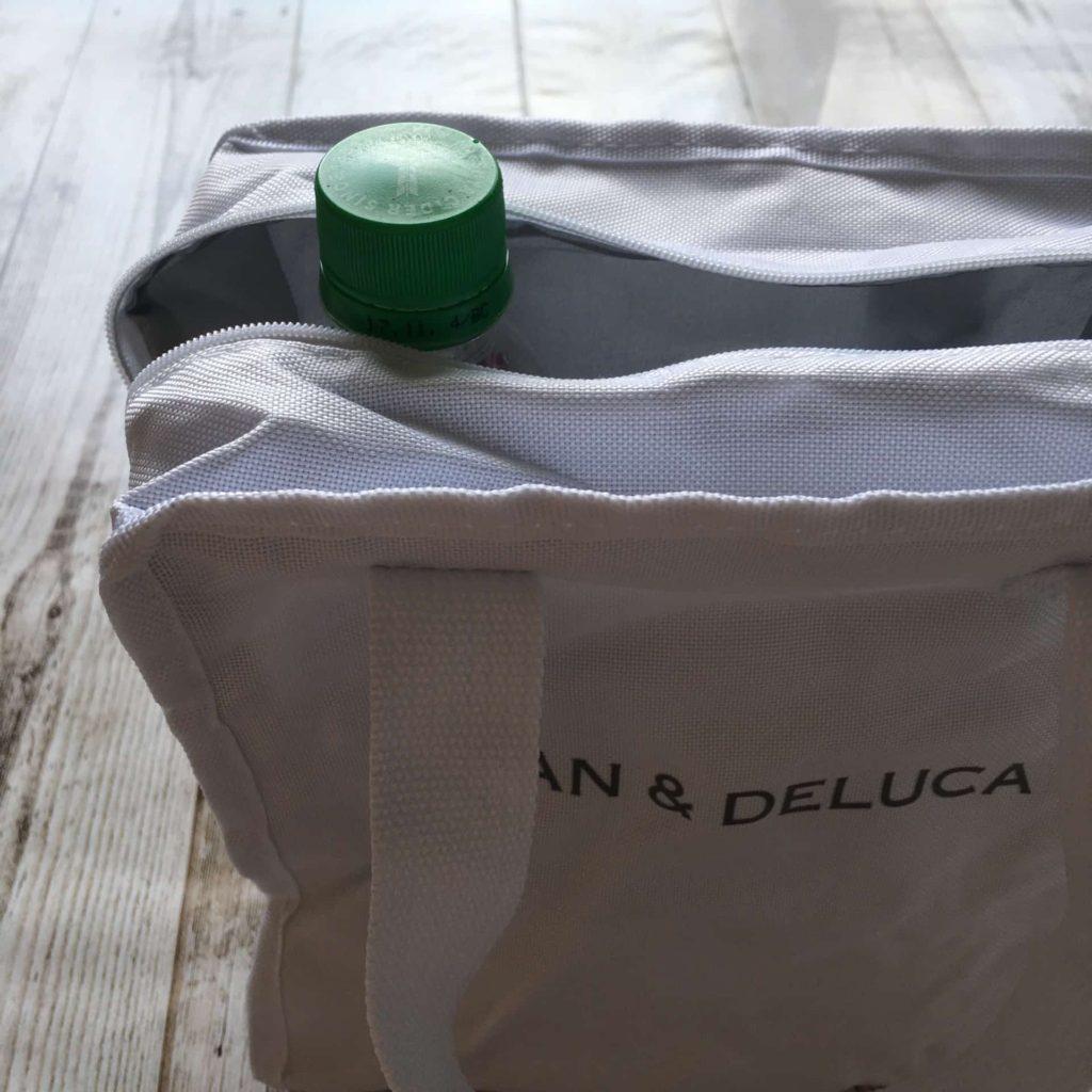 GLOW 2017年 8月号 付録 ディーンアンドデルーカ DEAN&DELUCA 保冷バッグ サイズ