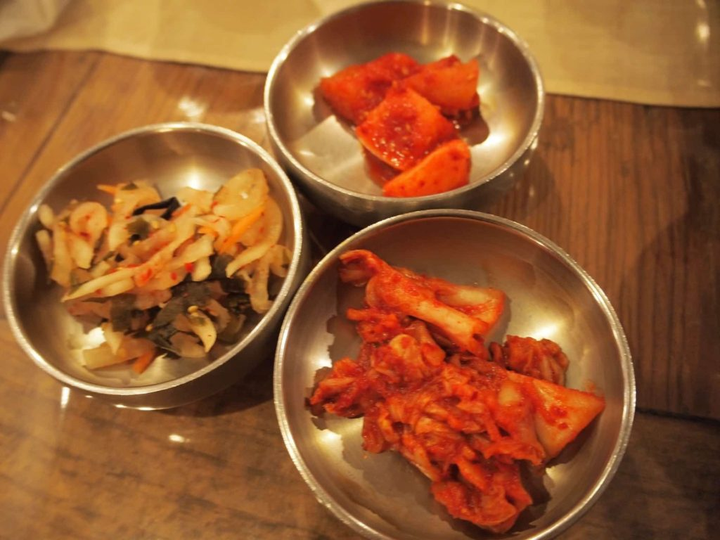 班家食工房 ランチ 鶴橋 韓国料理 メニュー 値段 安い ナムル