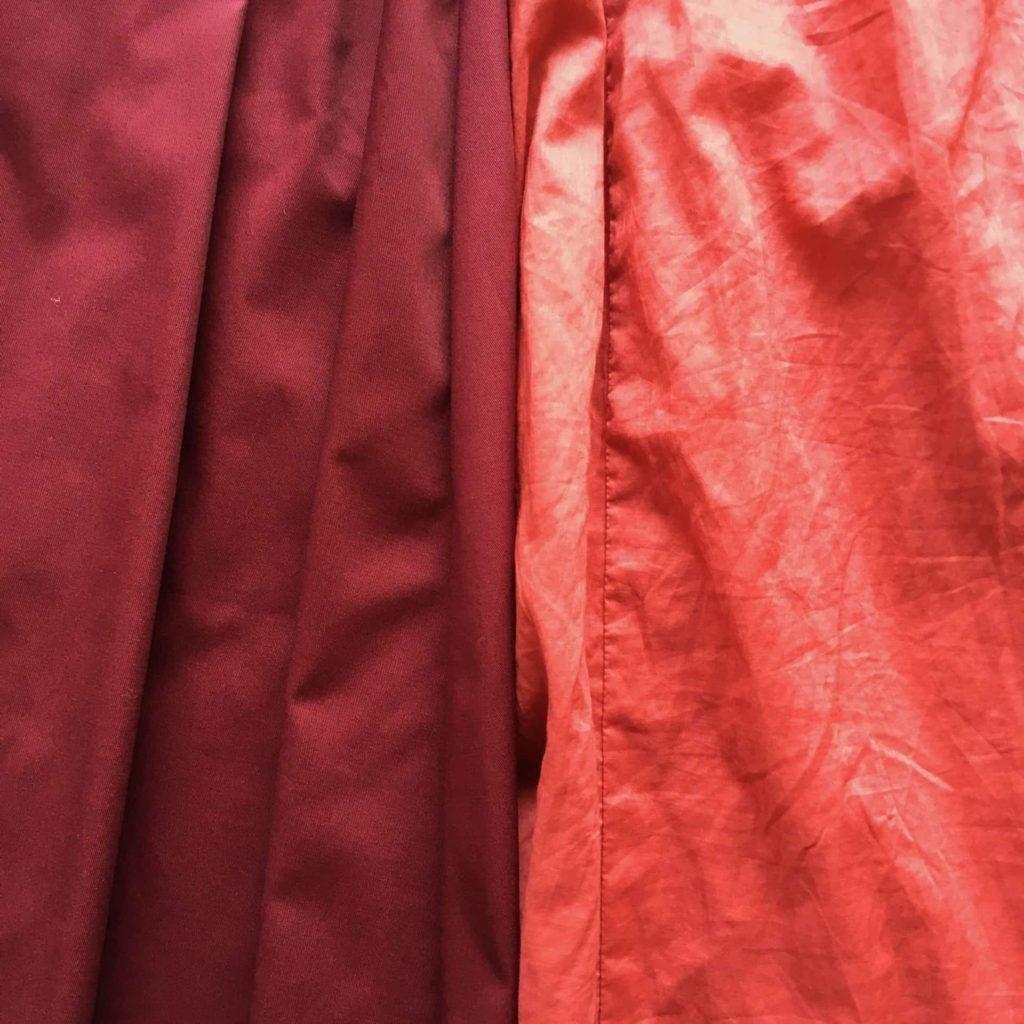 ユニクロ ハイウエストコットンボリュームスカート 素材 質感