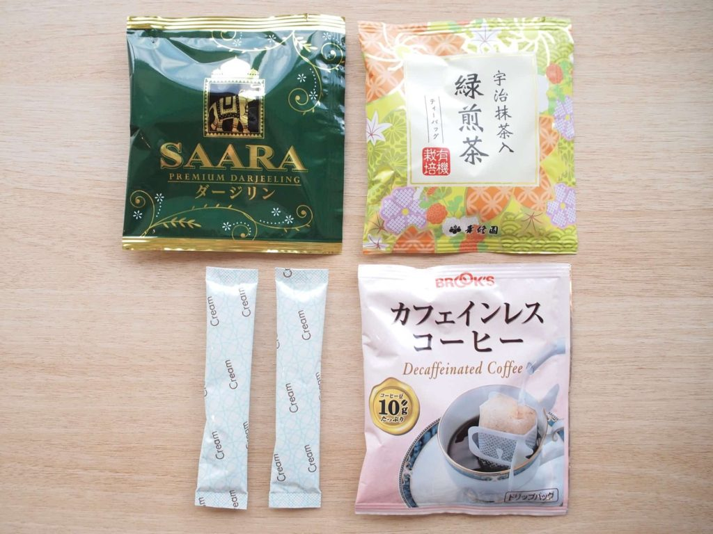 新横浜プリンスホテル レディースシングル レディースフロア 女性専用フロア アメニティ 部屋 客室 画像 コーヒー 紅茶