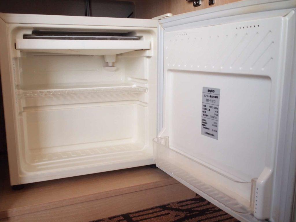 新横浜プリンスホテル レディースシングル レディースフロア 女性専用フロア 部屋 客室 画像 冷蔵庫
