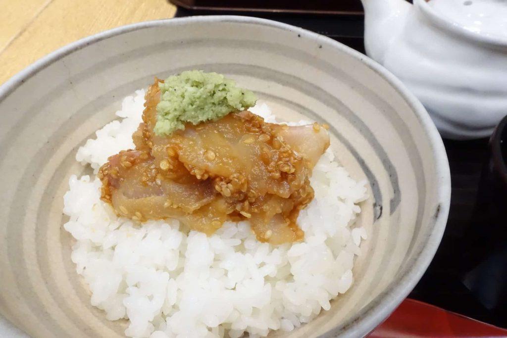 はしたて 京都駅 SUVACO スバコ JR京都伊勢丹 和食 おすすめ ランチ メニュー 値段 鯛の胡麻味噌丼
