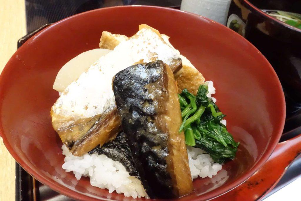 はしたて 京都駅 SUVACO スバコ JR京都伊勢丹 和食 おすすめ ランチ メニュー 値段 月替わり 鯖味噌煮丼