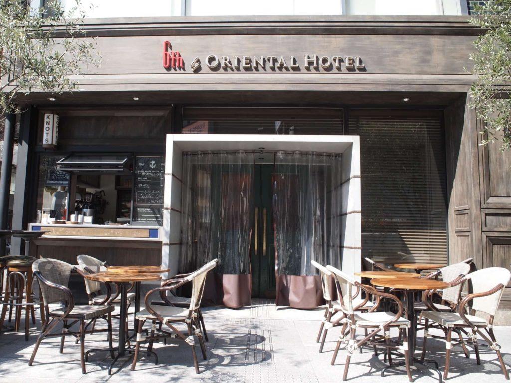 6th by ORIENTAL HOTEL シクスバイオリエンタルホテル ランチ 有楽町 東京 パンケーキ
