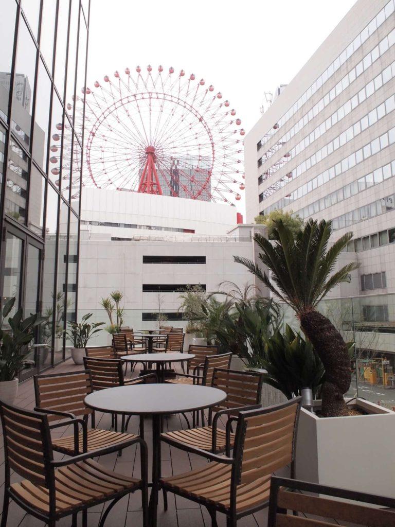 Eggs'n Things エッグスンシングス 店内 大阪 梅田 茶屋町店