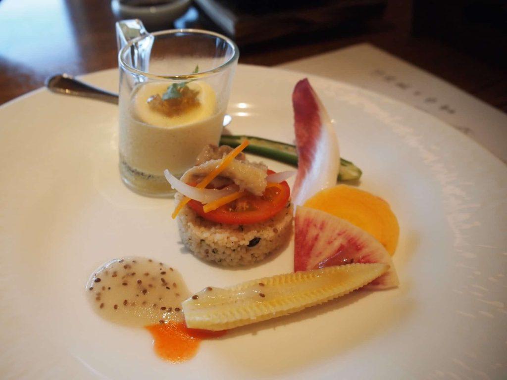 ホテルニューアワジ ヴィラ楽園 宙の庭 旅行記 宿泊レポ 部屋 夕食 ディナー