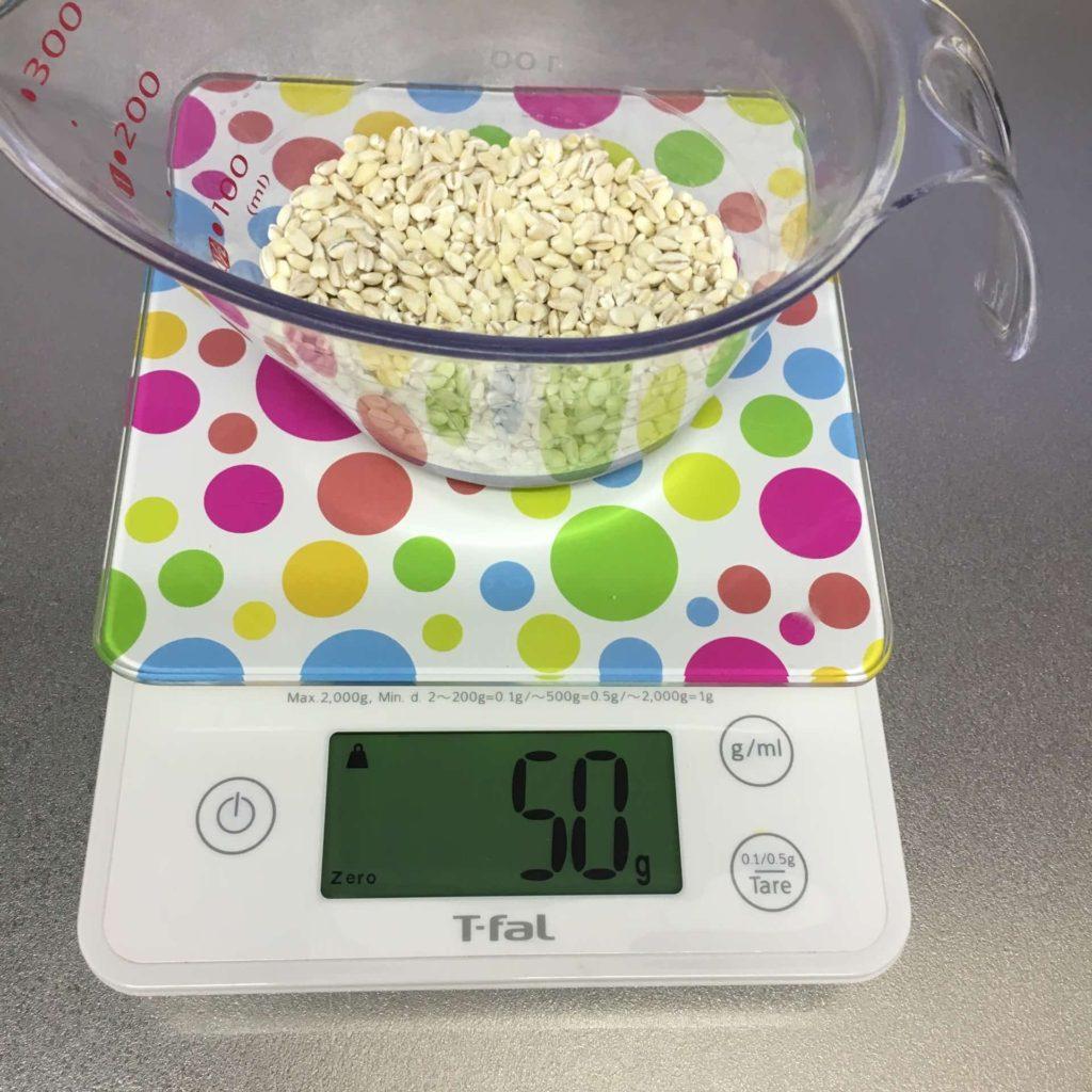 トップバリュ 胚芽もち麦 もち麦ごはん 炊き方