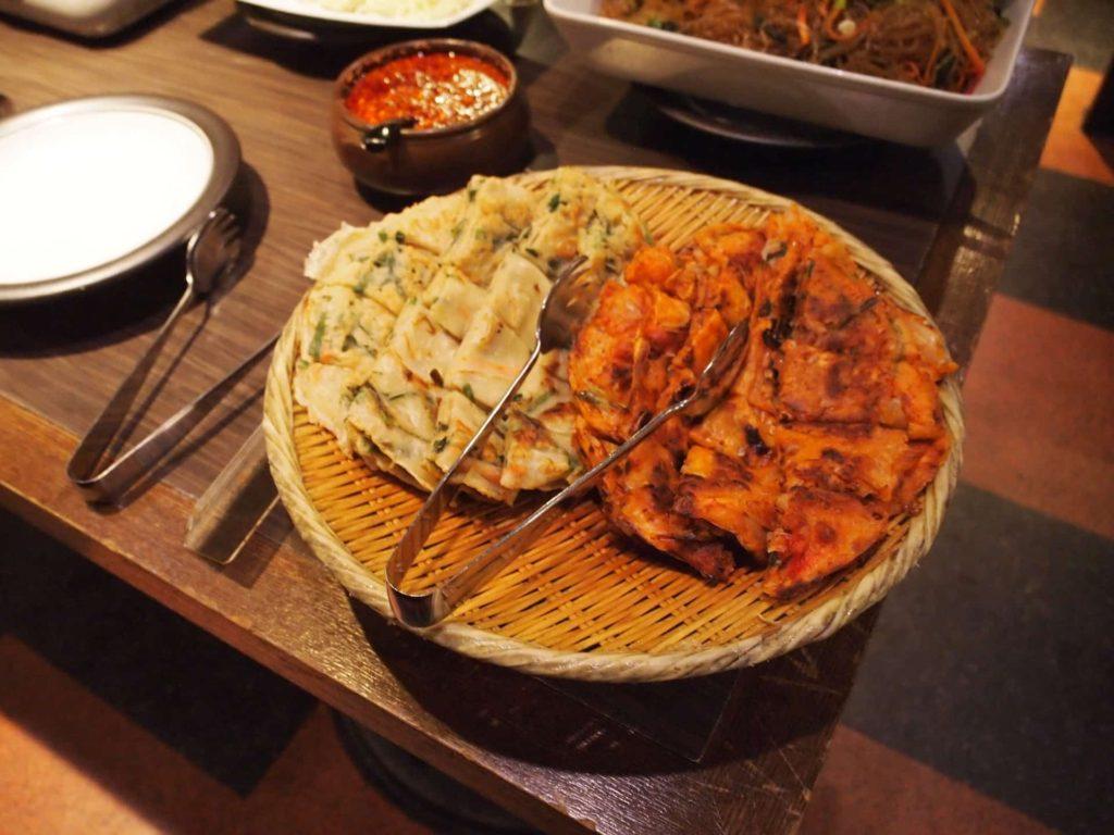 プングム 新大久保 ランチ 韓国料理 食べ放題 バイキング ビュッフェ メニュー チヂミ
