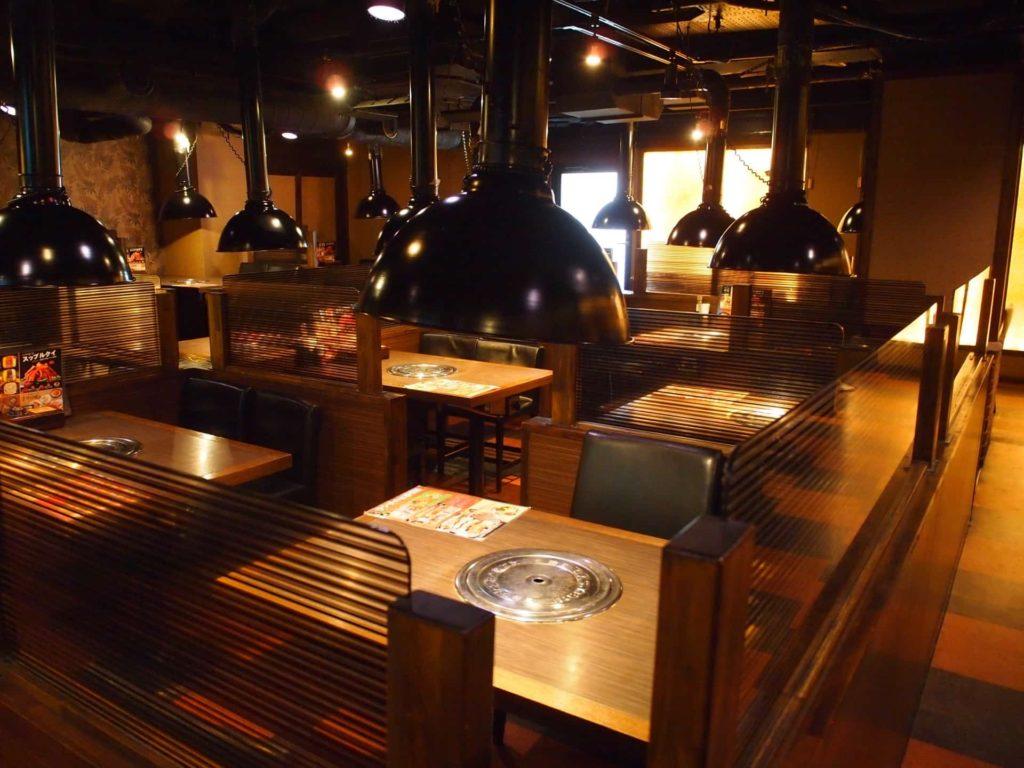 プングム 新大久保 ランチ 韓国料理 食べ放題 バイキング ビュッフェ 店内