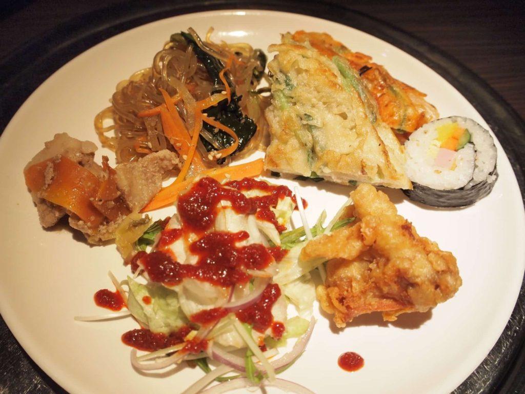 プングム 新大久保 ランチ 韓国料理 食べ放題 バイキング ビュッフェ