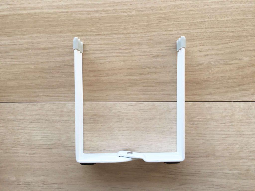 山崎実業 ポリ袋ホルダー プレート ホワイト ポリ袋スタンド レビュー 口コミ ブログ