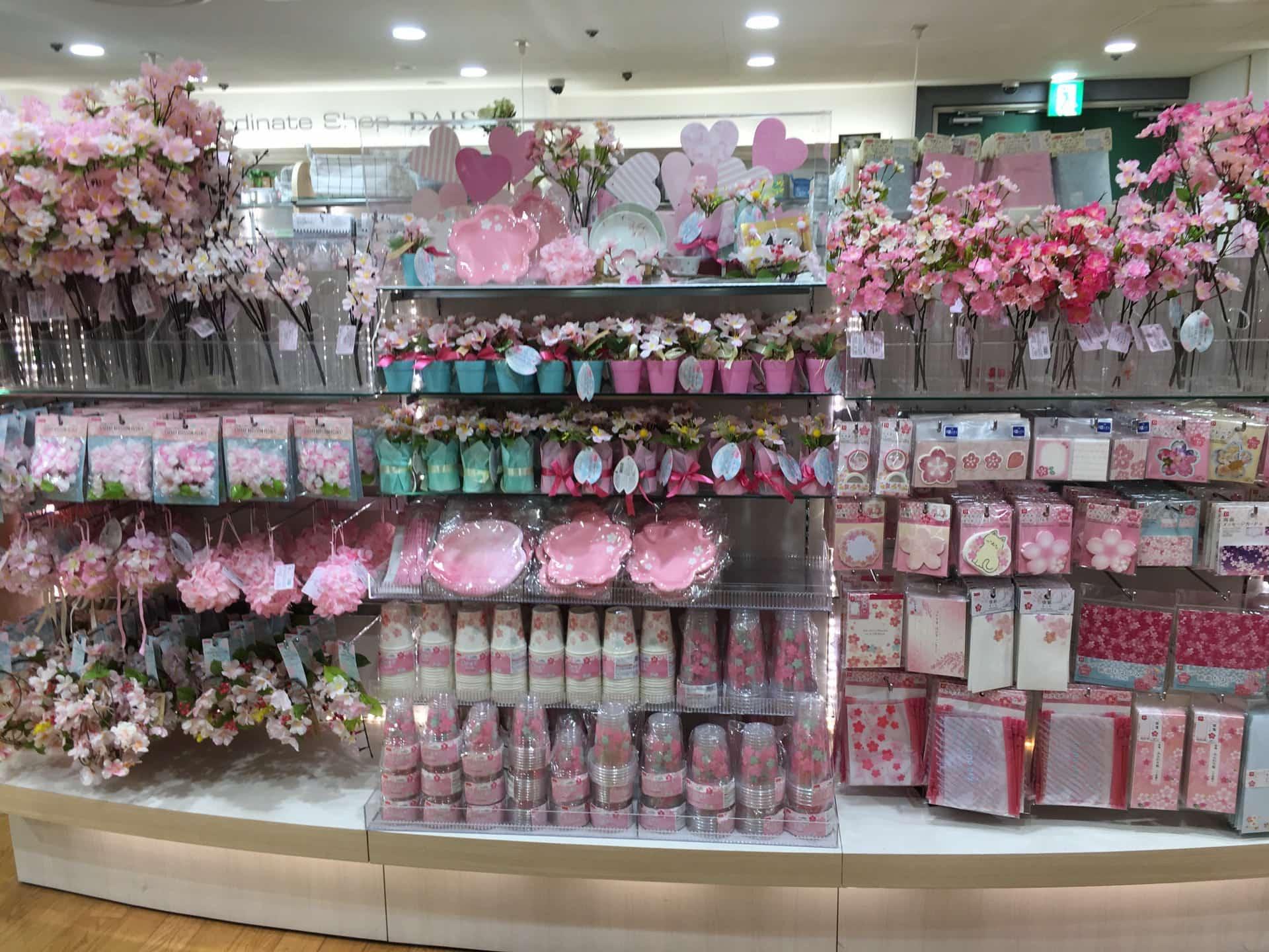 2018年もダイソーの桜グッズが充実!造花・シール・メッセージカードなど商品一覧