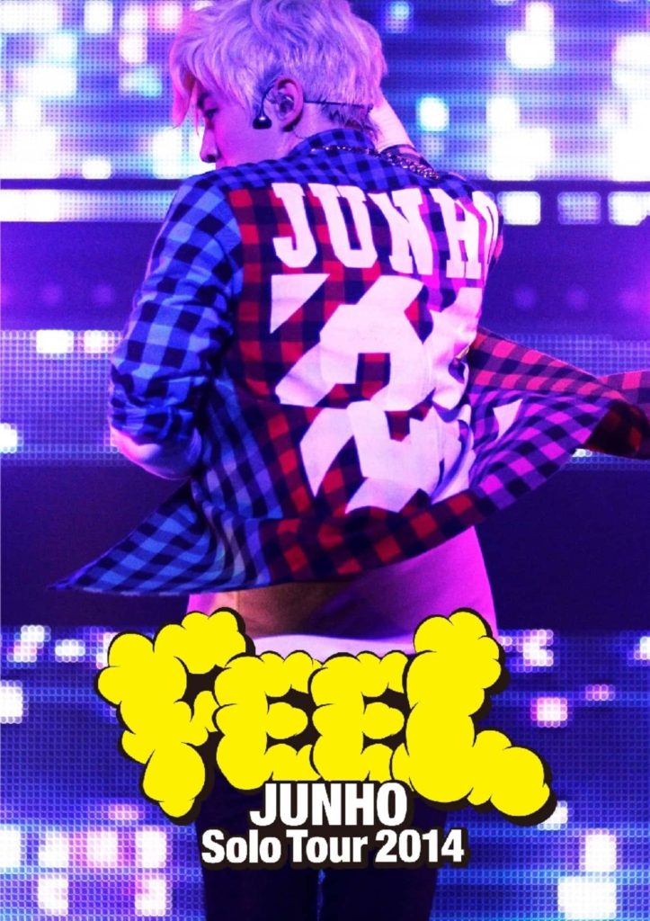 "JUNHO (From 2PM) Solo Tour 2014 ""FEEL"" セットリスト セトリ"