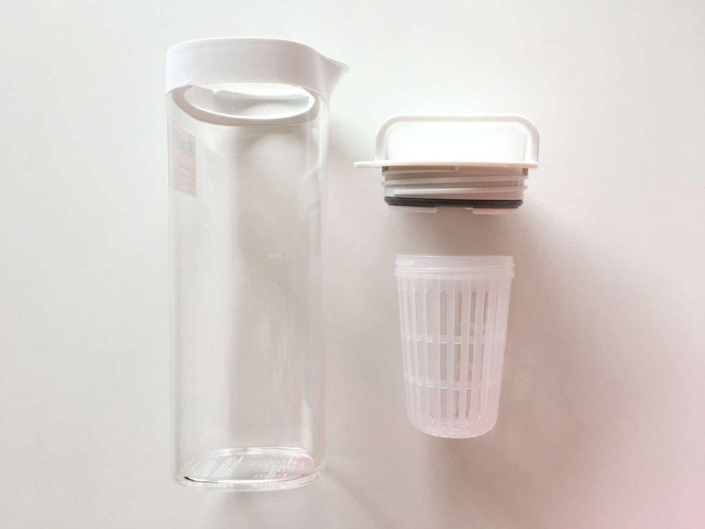 無印良品 無印 アクリル冷水筒 ドアポケットタイプ アクリル 冷水筒 水出し