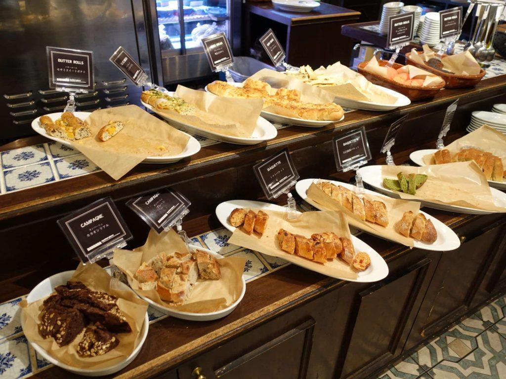 バルバラ 梅田 大阪 中崎町 バルバラマーケットプレイス ランチ パン食べ放題