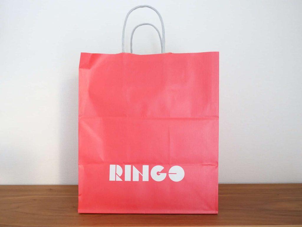 RINGO アップルパイ ルクア大阪 大阪 ルクア パッケージ 紙袋 ショッパー