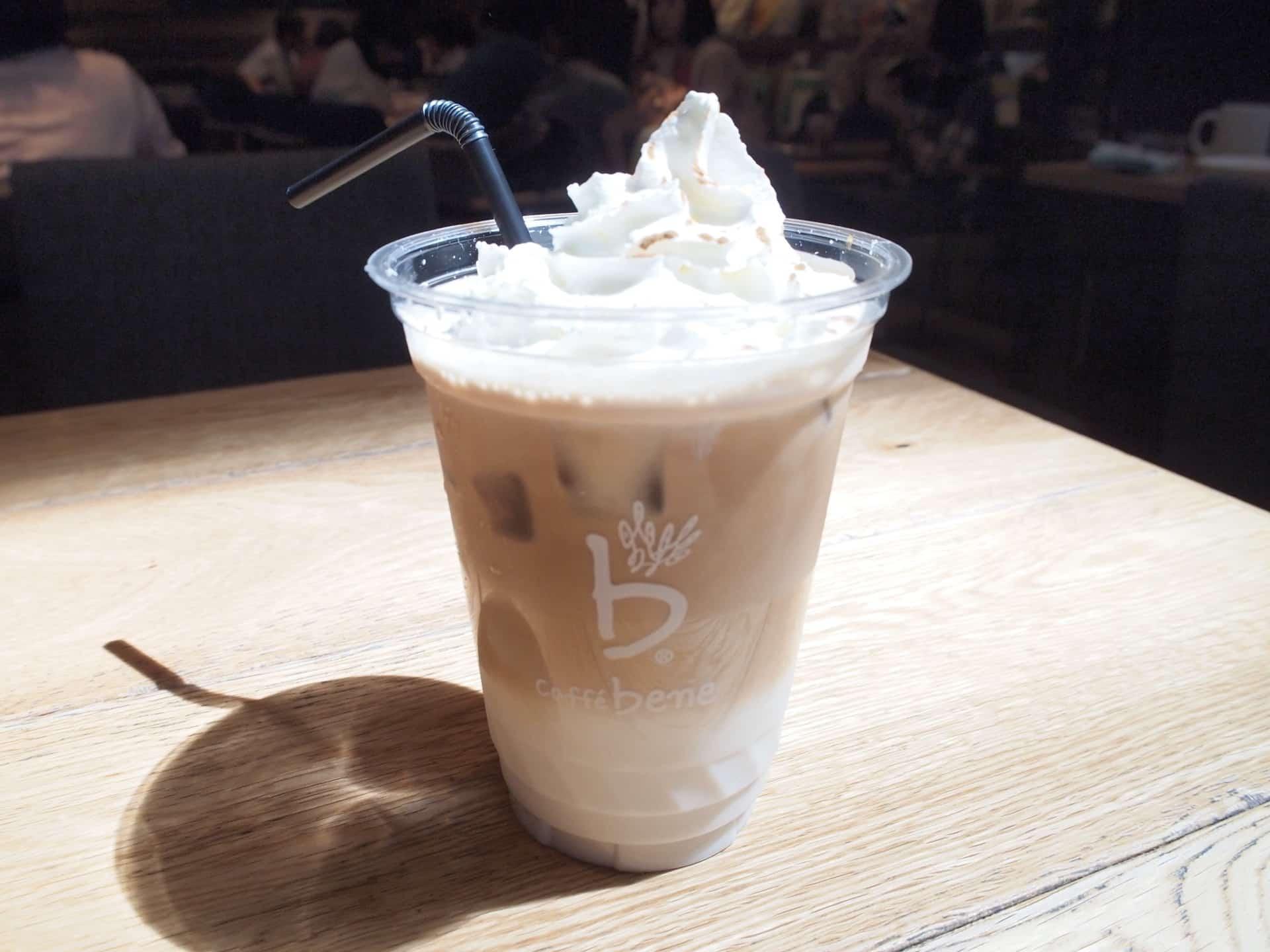 カフェベネ 羽田空港第1ターミナル店 − 韓国の人気カフェの日本1号店!JAL・スカイマーク利用の時に便利