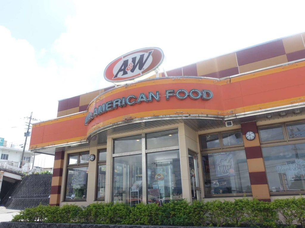 A&W 沖縄