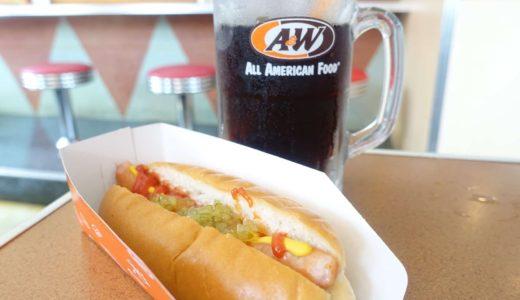 【A&W】沖縄限定のファストフード!独特の味わいのルートビアがおすすめ